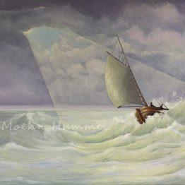 Bijbels Schilderij Ruwe Stormen, Atelier for Hope Betekenisvolle schilderijen